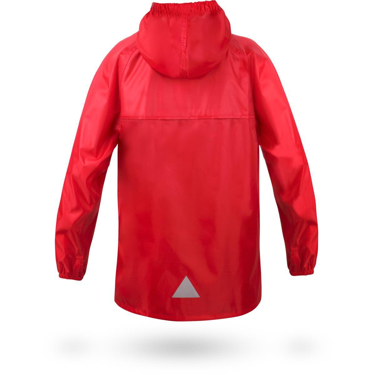 "Kinder Regenjacke ""Seattle"" - Rot für 22,85€"
