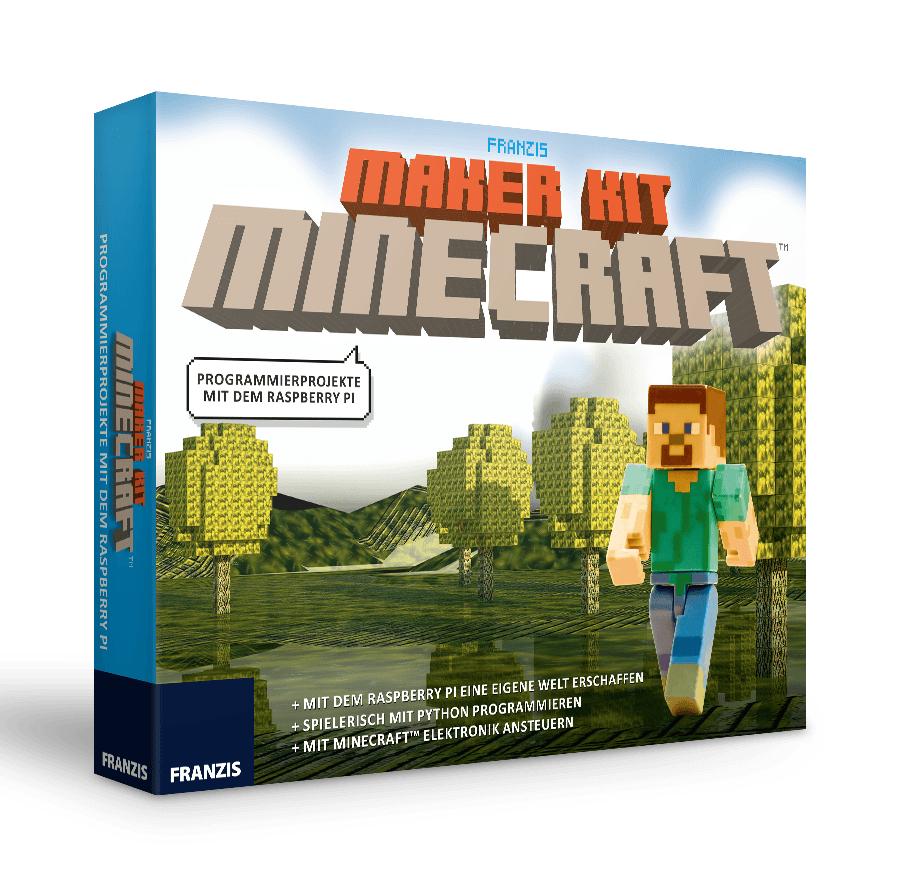 Franzis Maker Kit Minecraft   Programmierprojekte mit dem Raspberry Pi