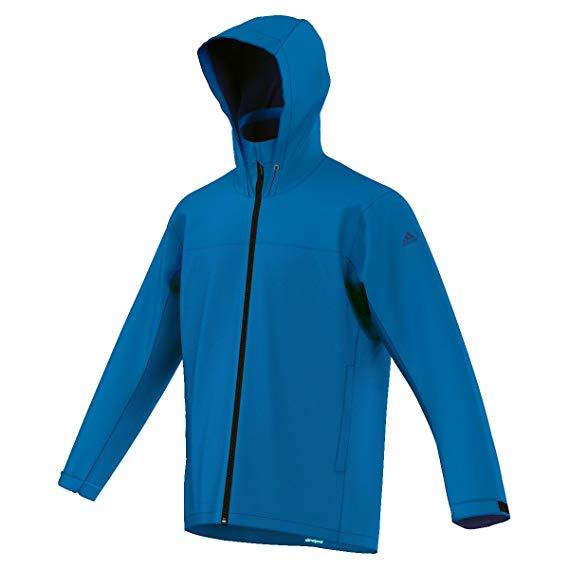 adidas Climaproof Outdoorjacke für Herren in blau (Gr. 46 - 50)