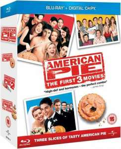 American Pie 1-3 (With Digital Copies) Blu-ray @Zavvi.com