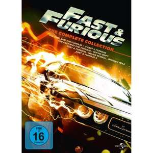 Fast & Furious - The Complete Collection [5 DVDs] @amazon