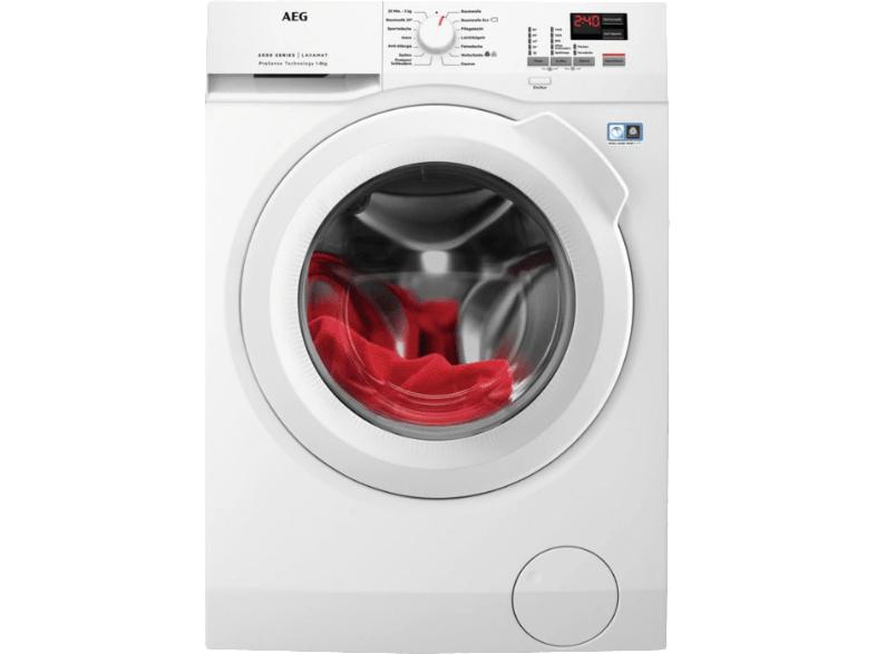 "AEG 8Kg-Waschmaschine ""L6FBA484"" (A+++, 1400 U/Min) [MediaMarkt]"