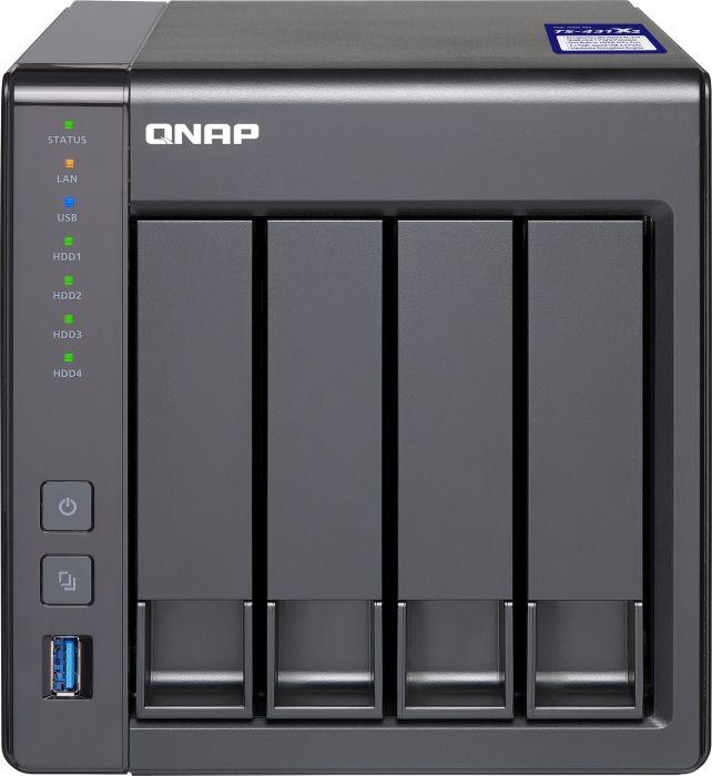 QNAP Systems TS-431X2-2G 4-Bay Business NAS [0/4 HDD/SSD, 1x 10GbE/2x GbE LAN, 2GB RAM]