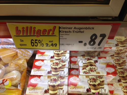[Lokal Kaufland Potsdam?] Coppenrath & Wiese Kleiner Augenblick Kirsch-Trüffel