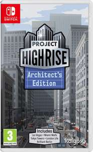 Project Highrise: Architects Edition (Switch & PS4) für je 13,76€ (Amazon IT)
