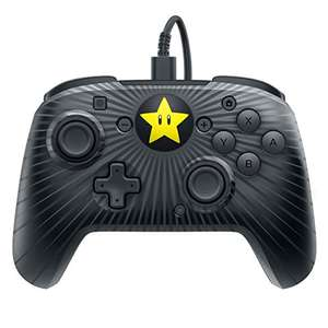PDP Nintendo Switch Faceoff Wired Pro Controller Super Mario Star Edition für 18,62€ (Amazon US)