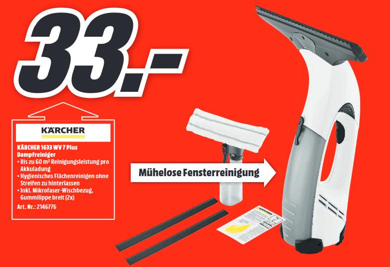 [Lokal: Media Markt Weiterstadt] KÄRCHER 1.633-142.0 WV 71 Plus, Fenstersauger
