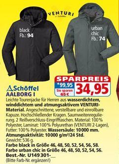 [Larca.de] Schöffel Aalborg 1 Regenjacke
