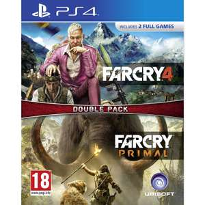 Far Cry 4 & Far Cry Primal Double Pack (PS4) für 20,22€ (MyMemory)