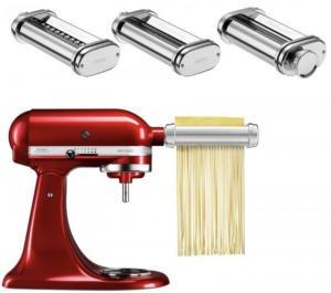KitchenAid 5KSMPRA 3-teiliger Nudel-Aufsatz mit Reinigungsbürste für 85,41€ inkl. Versandkosten [ebay/Plusdeal]