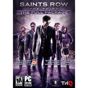 Saints Row The Third The Full Package @ amazon.com für 9,63 € (NUR HEUTE?)