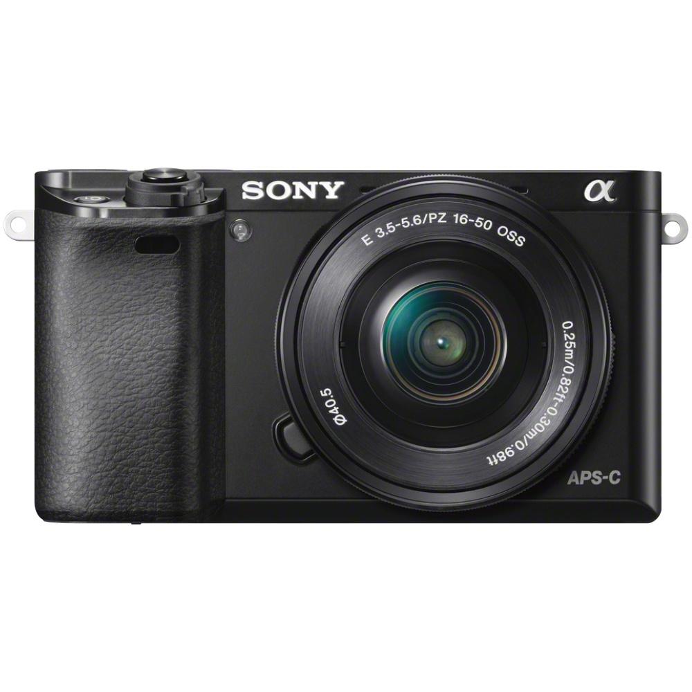 Sony Alpha 6000 mit Kit-Objektiv (16-50mm) schwarz