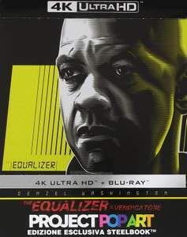 The Equalizer (PopArt Steelbook) (4K Ultra HD Blu-ray + Blu-ray) für 16,43€ (Amazon.it)