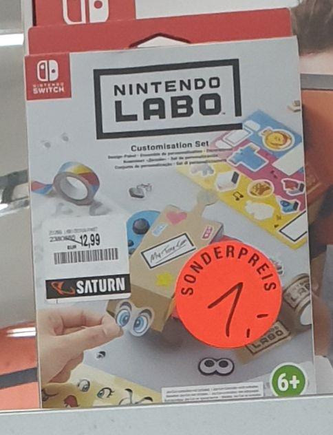 [Lokal: Saturn Wuppertal] Nintendo Labo Customisation Set