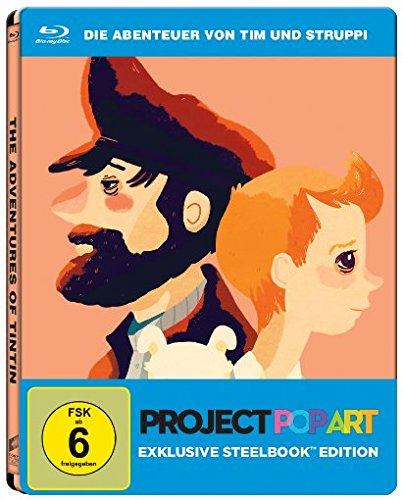 Die Abenteuer von Tim und Struppi - Das Geheimnis der Einhorn - Steelbook Edition (Blu-ray) für 5,99€ (Amazon Prime & Saturn)