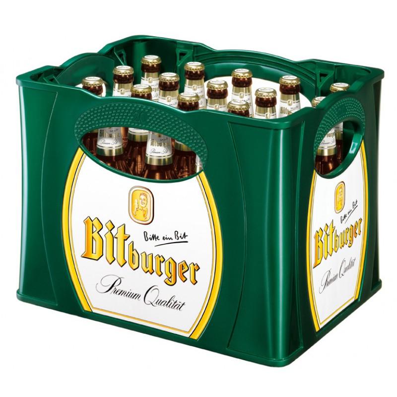 [Kaufland] Bitburger Premium Pils oder Kellerbier, 20x 0,5L Kiste für 10,00€ (Von 27.05 bis 29.05)