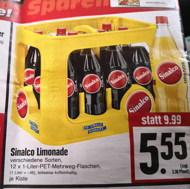 [Edeka Hessenring] Sinalco Limonade der Kasten 5,55€ zzgl. 3,30€ Pfand