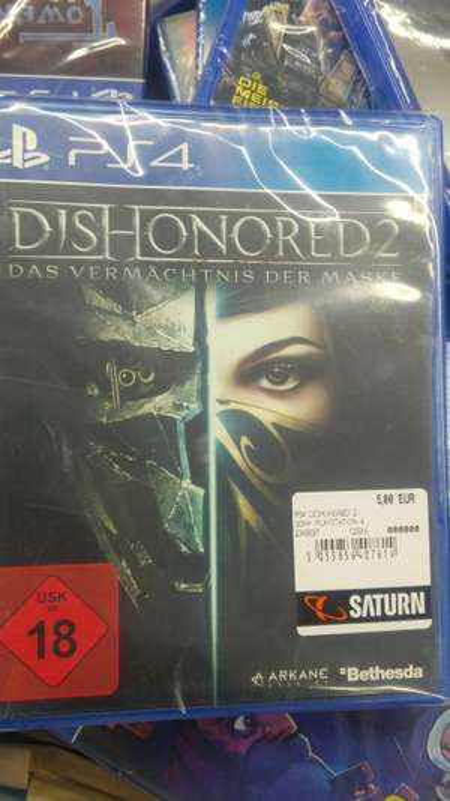 [Lokal Saturn Duisburg] Dishonored 2: Das Vermächtnis der Maske