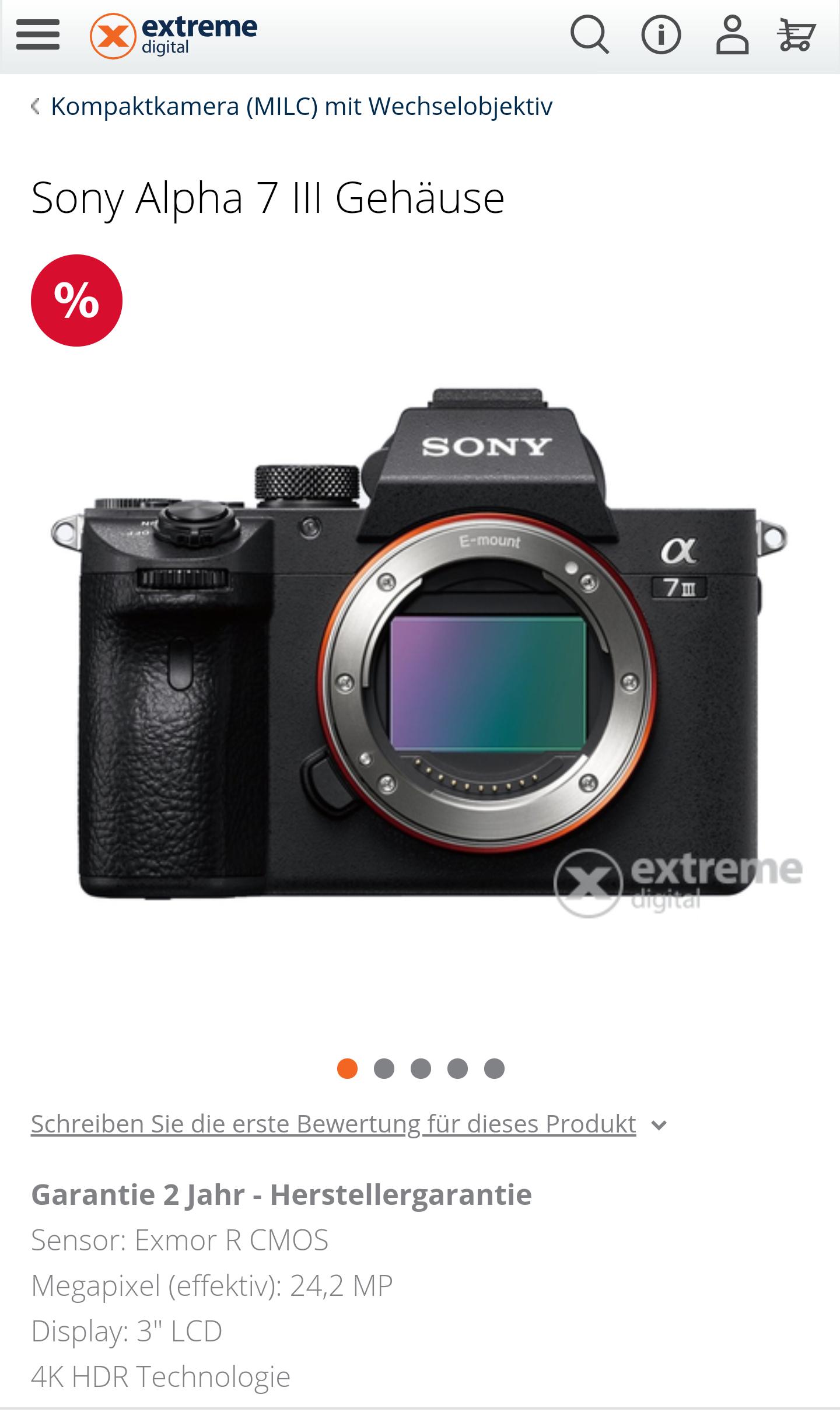 Sony a 7 III (Online)