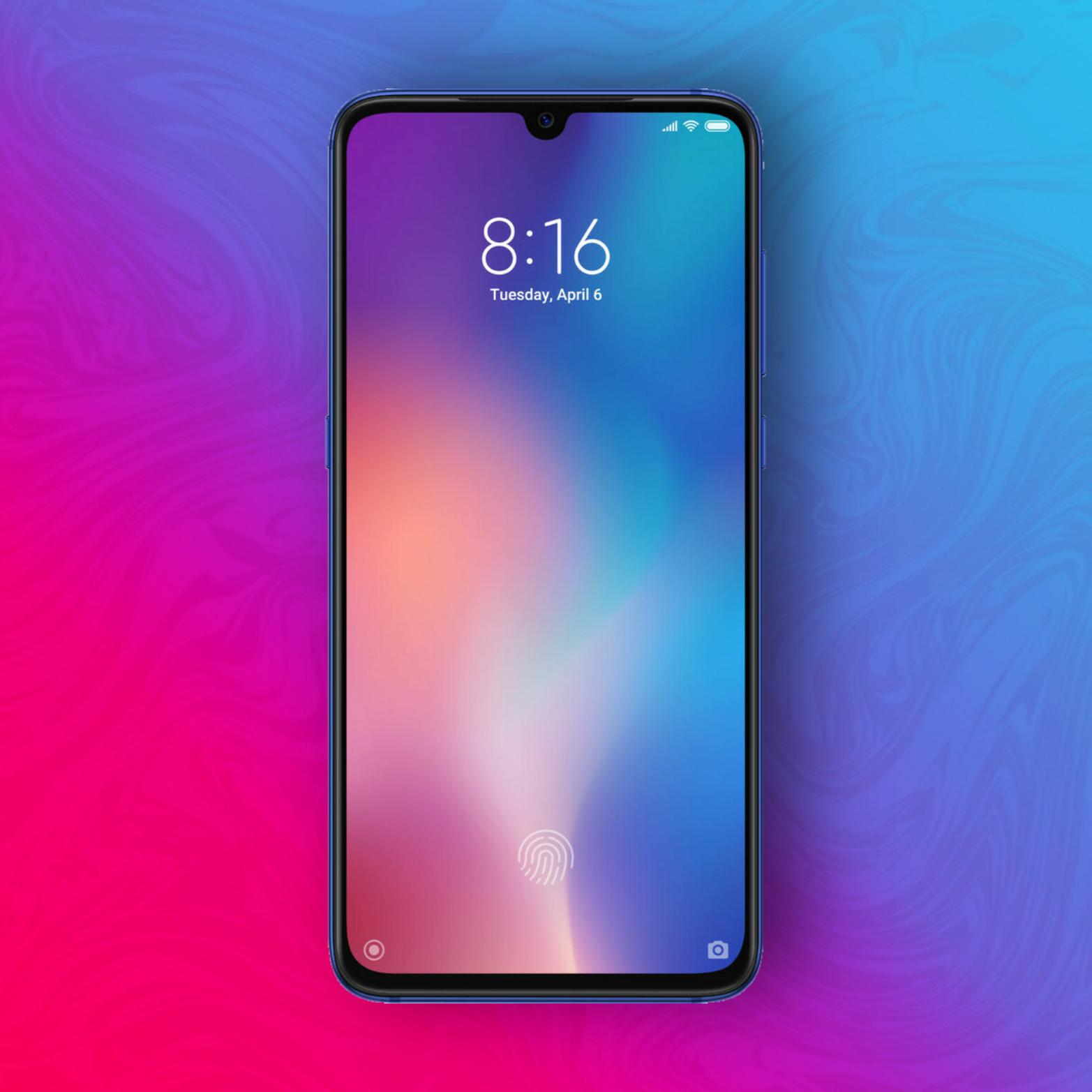 """Xiaomi Mi 9 64/6GB - Snapdragon 855 - 6,39"""" Super Amoled - 48MP/12MP/16MP Kamera - Wireless Charging - NFC"""