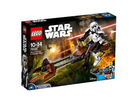 Lego Star Wars Scout Trooper & Speeder Bike (75532) für 37,99 Euro (GameStop online)