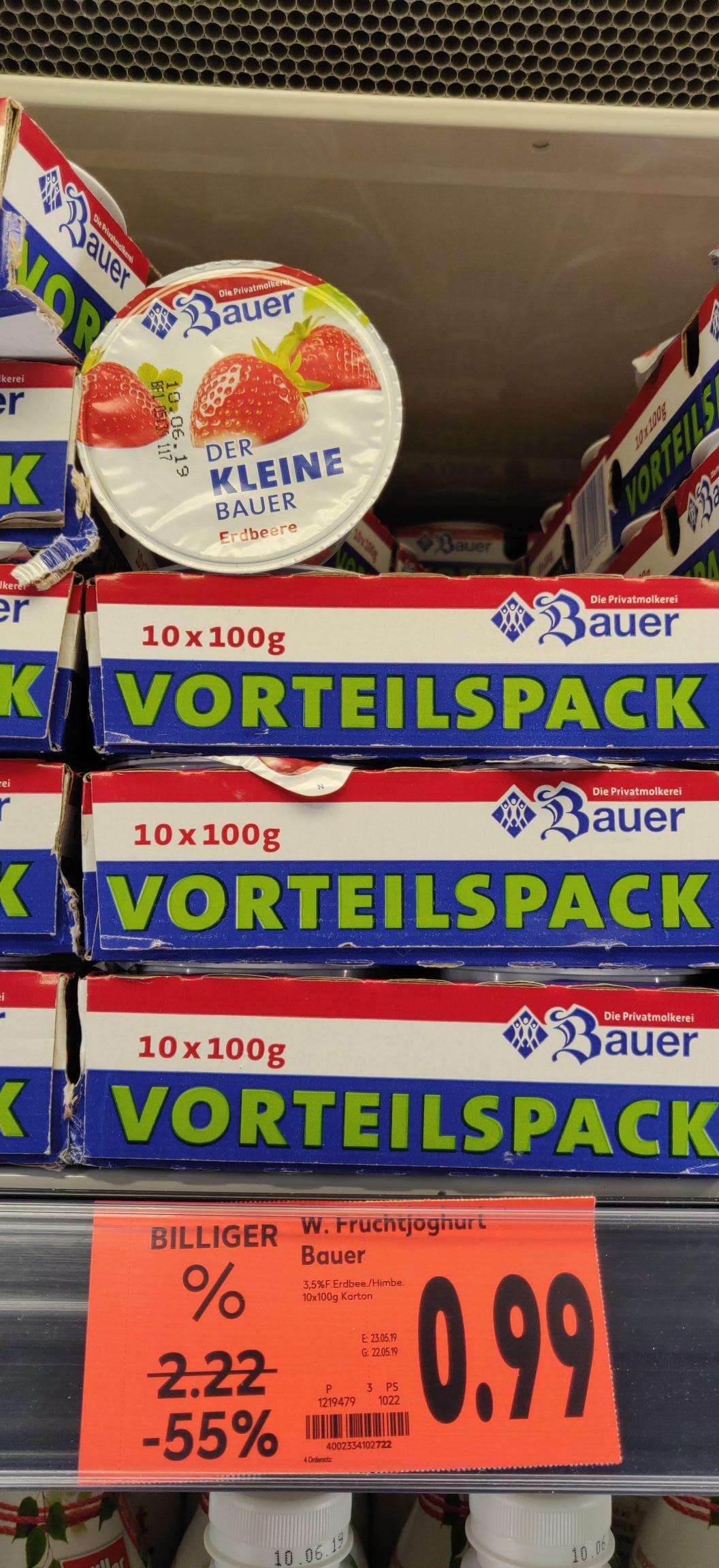 Bauer Joghurt -55% [lokal - Kaufland HN Stgt.Str.]