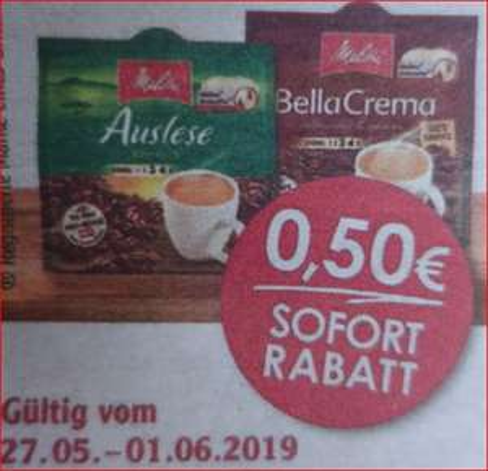 Melitta Kaffeepads, verschiedene Sorten, je 16 Pads, für 1,09 Euro [Globus]