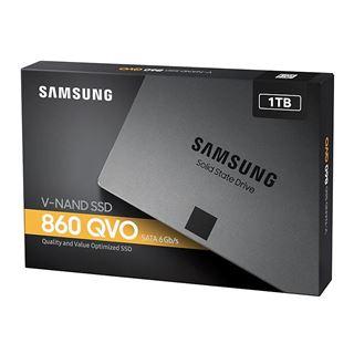 """1TB Samsung 860 SSD QVO 2.5"""" (6.4cm) SATA 6Gb/s 3D-NAND QLC"""