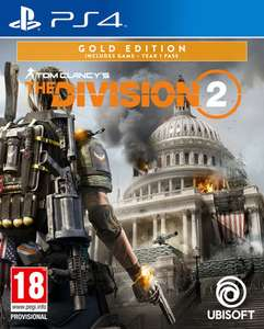 Tom Clancy's The Division 2 Gold Edition (PS4 & Xbox One) für 45,12€ inkl. Versand (Shopto)