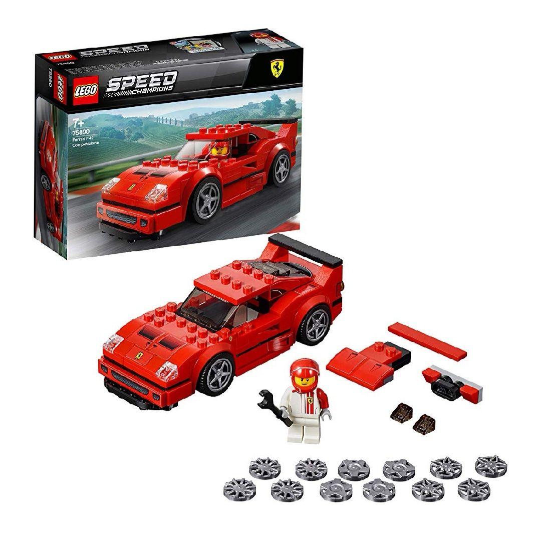 [Amazon] LEGO Speed Champions 75890 - Ferrari F40 Competizione, Rennwagen