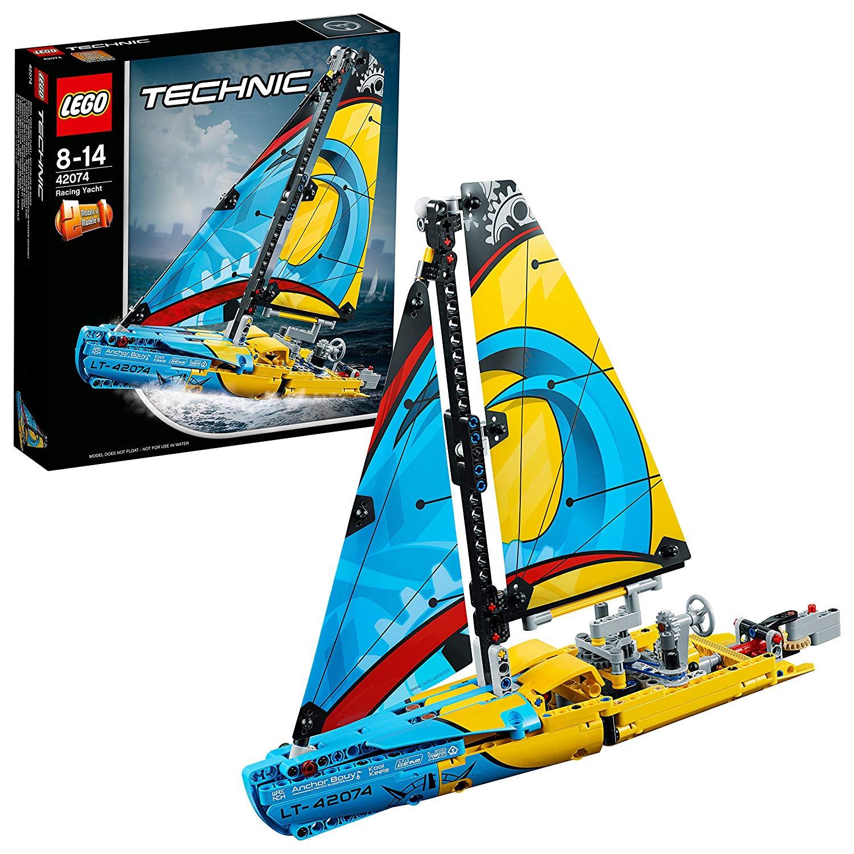 LEGO Technic 42074 - Set für geübte Baumeister, Rennyacht