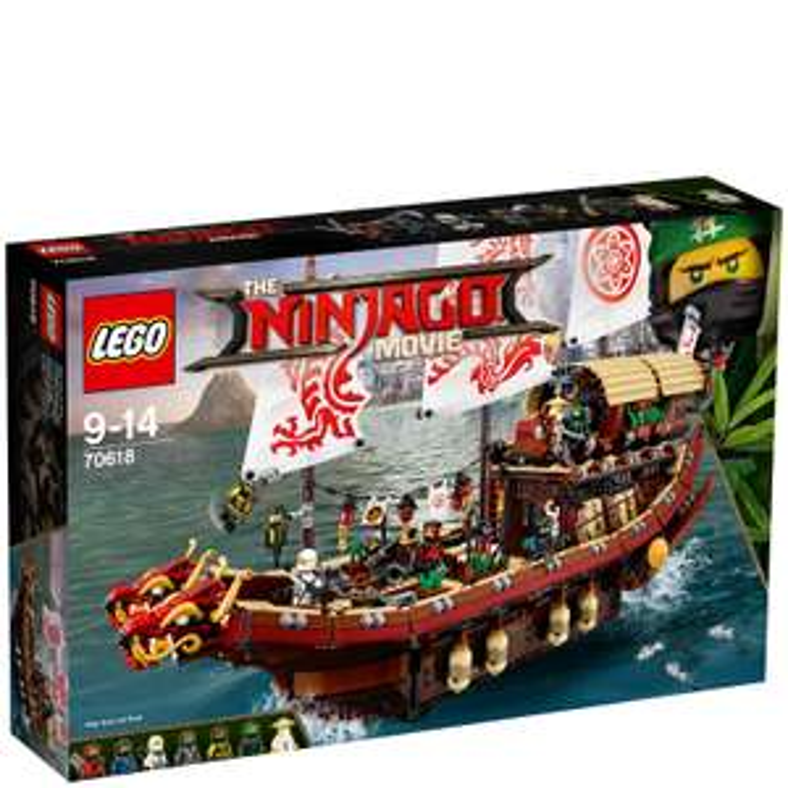 [Zavvi.de] The LEGO Ninjago Movie: Ninja-Flugsegler (70618)