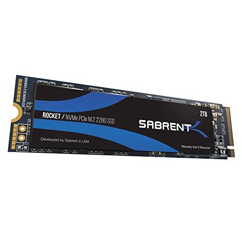 PRIME: 2TB NVMe PCIe M.2 2280 SSD Sabrent Rocket