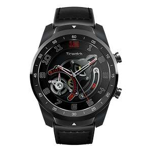 """(Mobvoi.com) TicWatch Pro 4GB/512MB - Wear OS - IP68 GPS - NFC: Google Pay - 1,39"""" Oled - Snapdragon W2100 - HRM Heart Rate"""