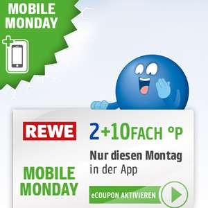 12-fach Payback Punkte bei Rewe am 27.05. (Mobile Monday)