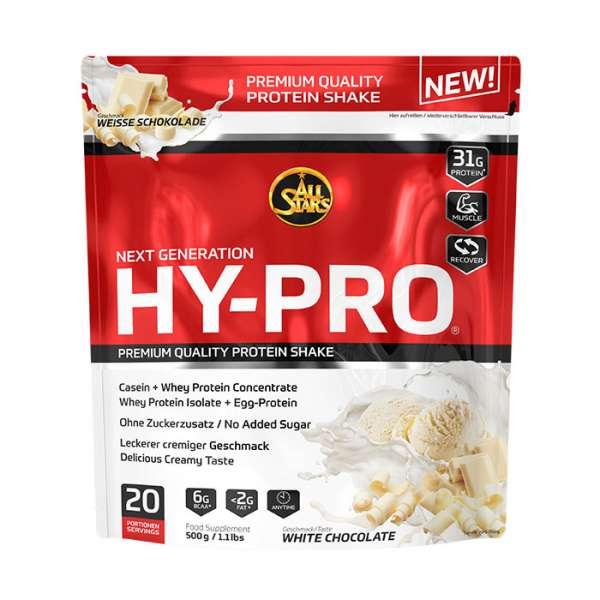ALL STARS HY-PRO Protein Cranberry-Joghurt Geschmack - 500g Beutel
