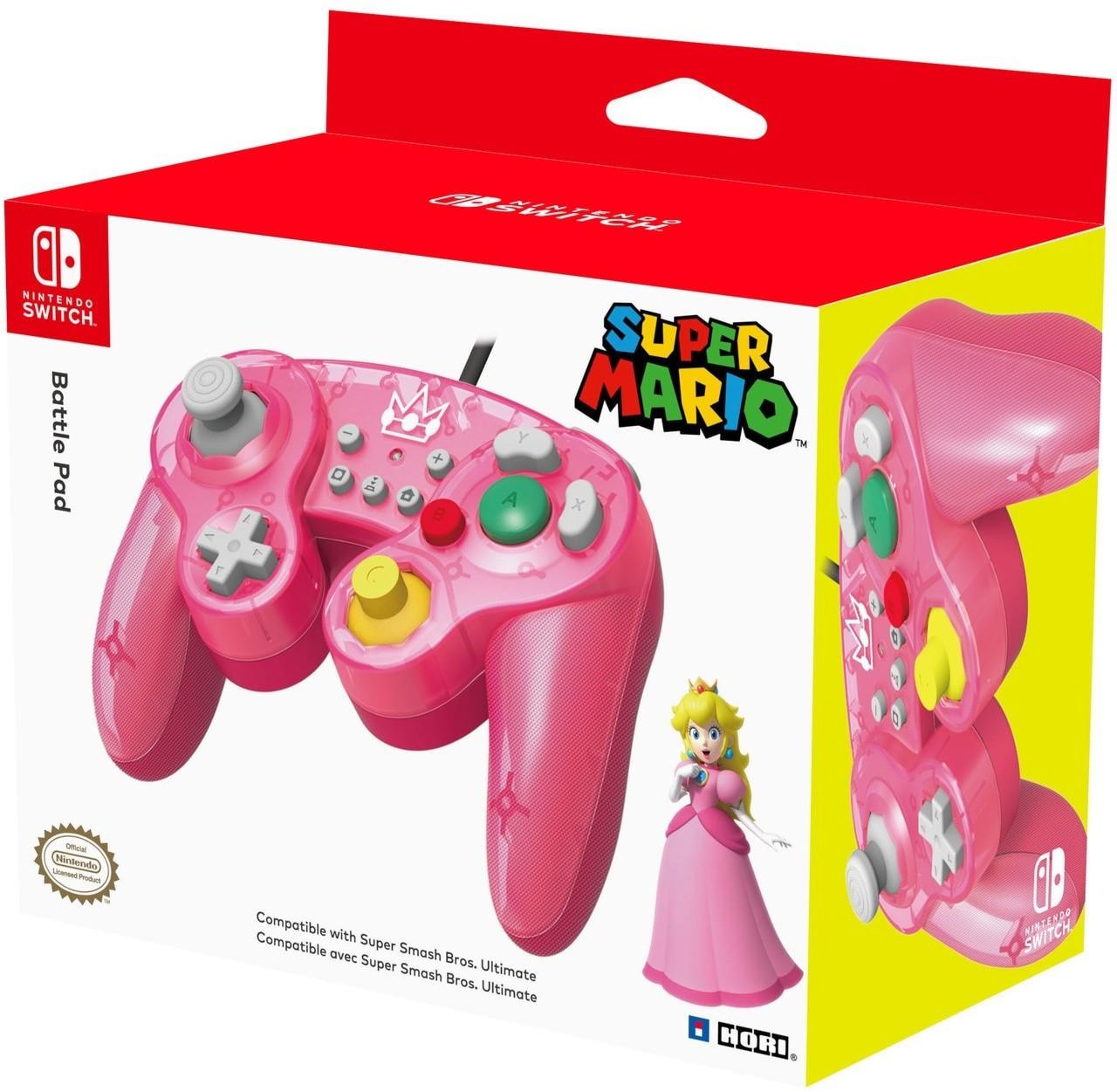 HORI Nintendo Switch Battle Pad (Peach & Mario) für je 14,57€ (ShopTo)