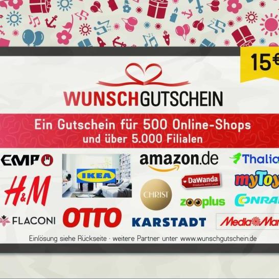 [Penny ab 27.05.] Bis zu 400 extra Payback Punkte auf WunschGutschein Karten z.B. mit Amazon, MediaMarkt, Saturn & Co. (ca. 8% Rabatt)