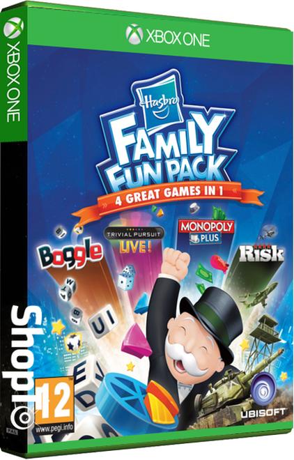 Hasbro Family Fun Pack (Xbox One) für 11,13€ (Shopto)