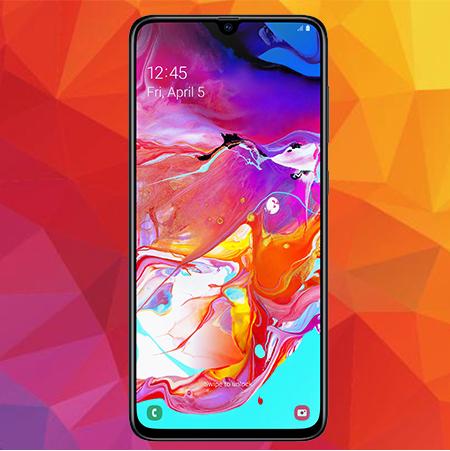 """Samsung Galaxy A70 (6,7"""", 4.500 mAh) für 4,95€ ZZ mit Blau Allnet XL (5GB LTE, Telefonica-Netz) mtl. 19,99€ + 80€ Adidas Gutschein"""