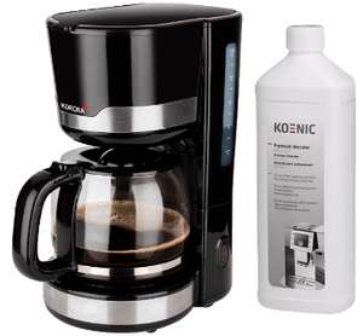 Kaffee-Angebote: z.B. Kaffeemaschine Korona 10232 + Entkalker Koenic KDC 1000-1 für 25€ oder 1kg Lavazza Caffe Crema Classico für 9,99€