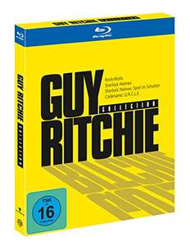 [Amazon Prime] Guy Ritchie Collection (inkl. 4 Filme: Codename Uncle, RocknRolla, Sherlock Holmes, Sherlock Holmes: Spiel im Schatten)