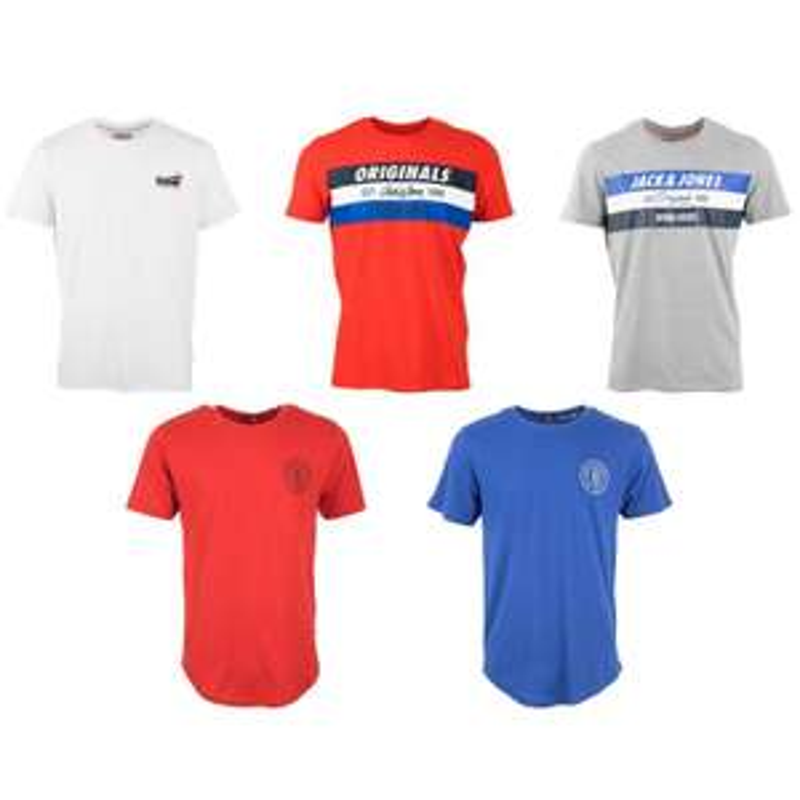 5 T-Shirts für 25,10€ bzw. 30€ inkl. Versand