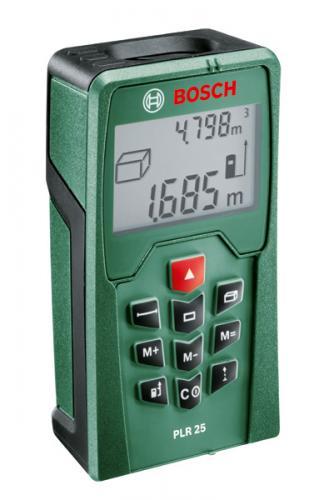 Bosch PLR 25 Laserentfernungsmesser @Amazon für 59,99 (-40%)