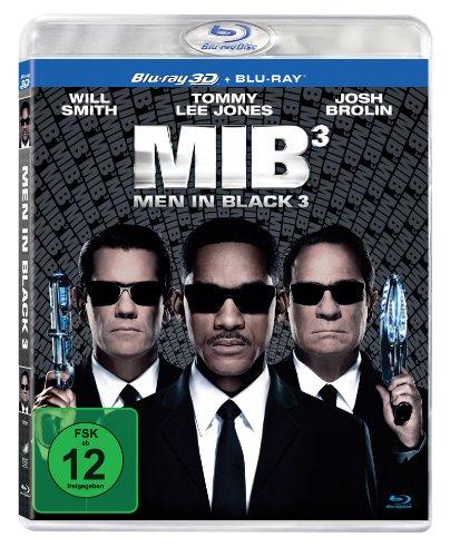 Men in Black 3 (Blu-ray 3D + Blu-ray) für 8,51€ (Amazon Prime)