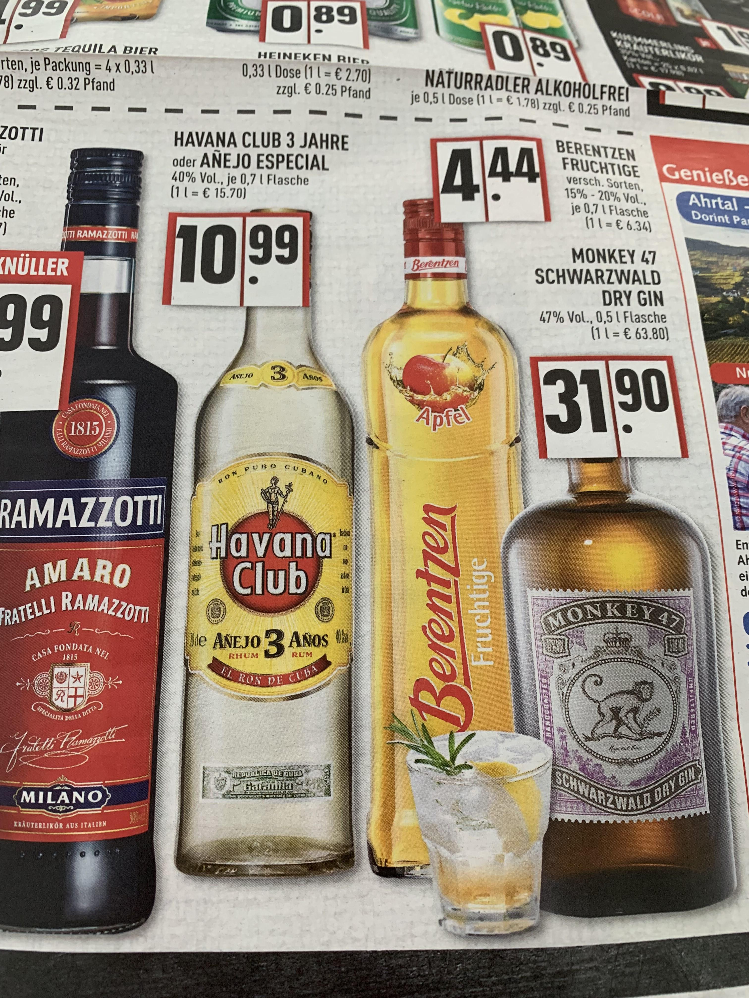 Havana Club oder Havana Especial für 10,99€ [EDEKA RHEIN-RUHR] 27.05-01.06