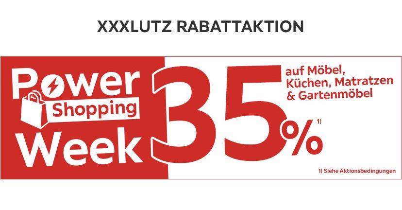XXL Lutz 35% Lokal oder online, Gültig vom 24.05. bis 03.06.2019.