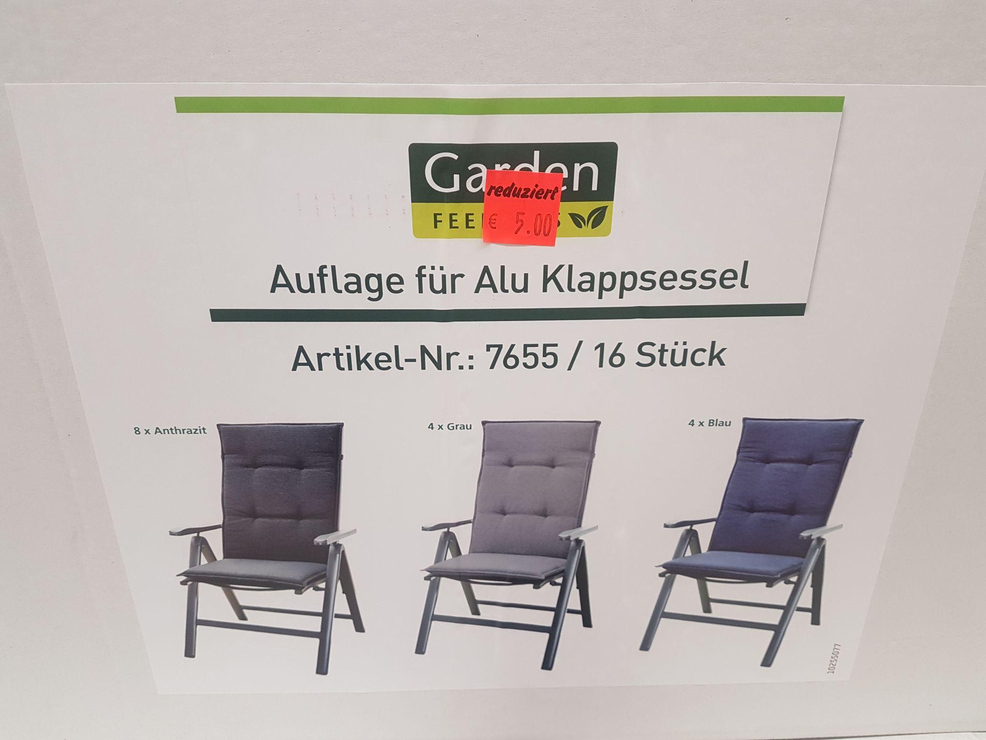 [Lokal: Aldi Berlin Moabit] Gartenstuhl Sitzkissen