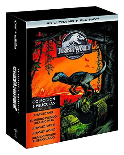 [Amazon.es] Jurassic Park Teil 1 - 5 als Boxset - 4K / UHD Bluray