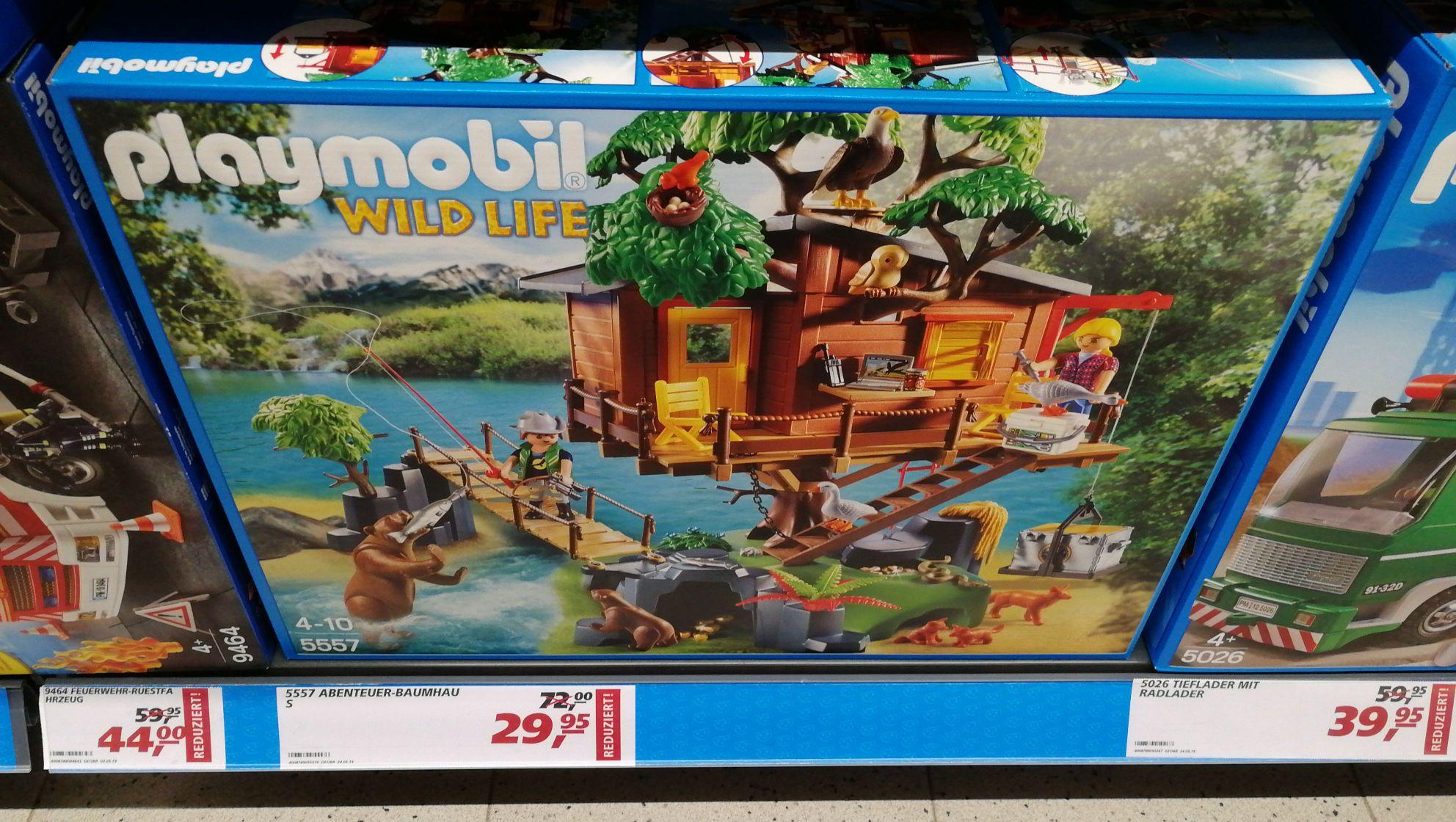 [LOKAL] REAL Sankt Augustin, Frankfurt, Darmstadt u.a.? - Playmobil Abenteuer-Baumhaus 5557